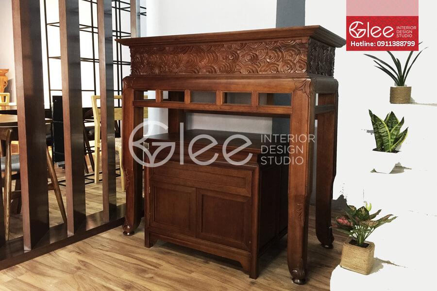 Tủ thờ gỗ đẹp hiện đại cao cấp – GTT26