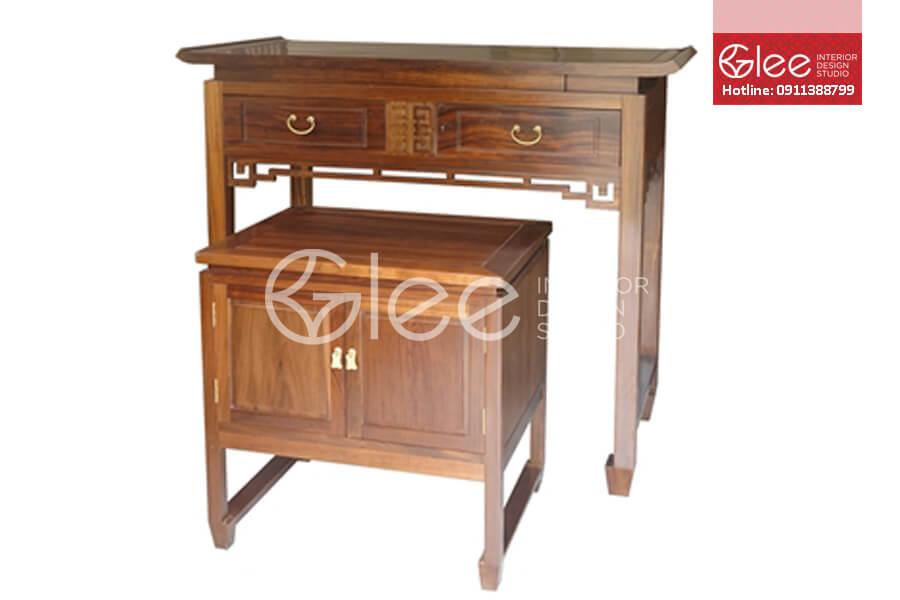 Tủ thờ gỗ gụ đẹp - GTT01
