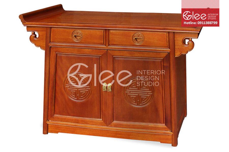 Tủ thờ gỗ mít - GTT05