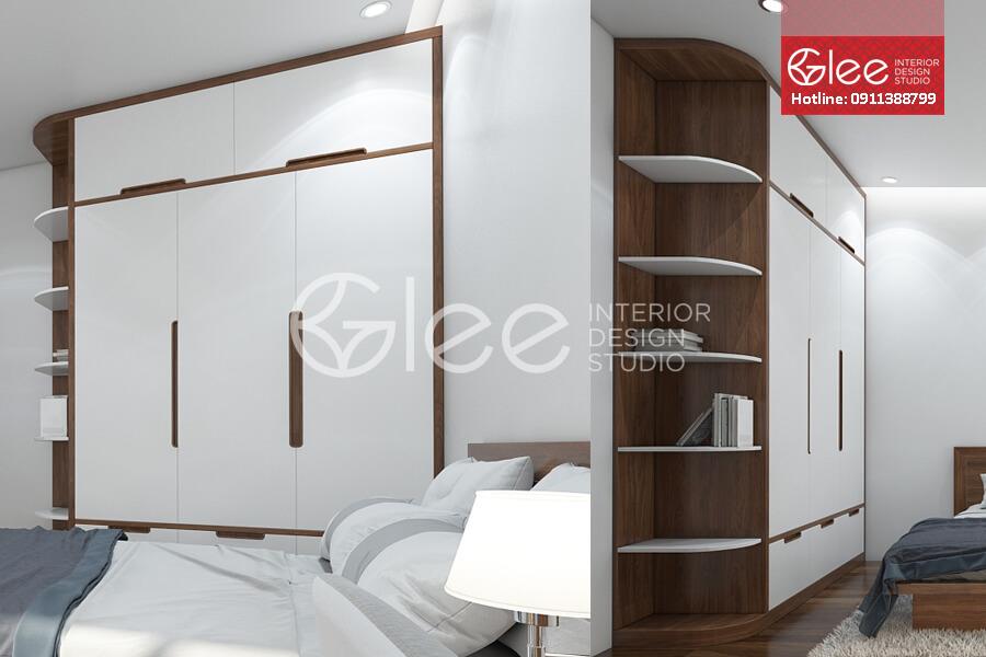 Tủ quần áo gỗ GTA24